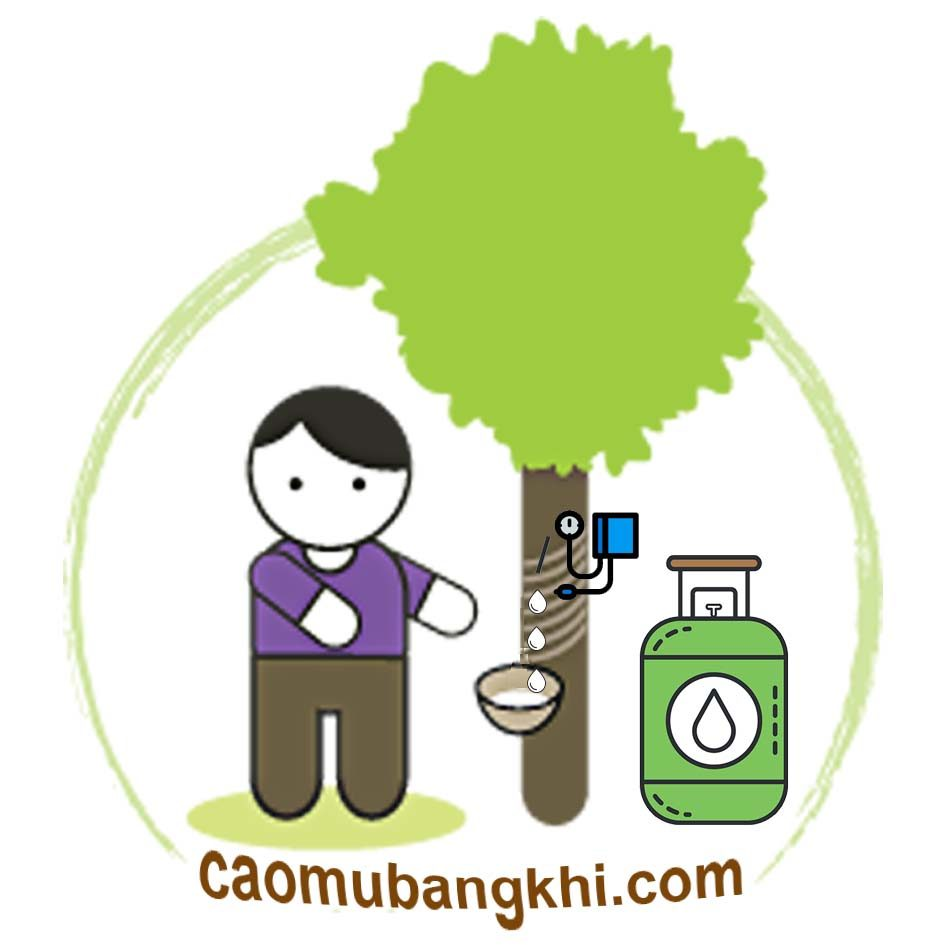 Cạo mủ cao su bằng khí ethylene
