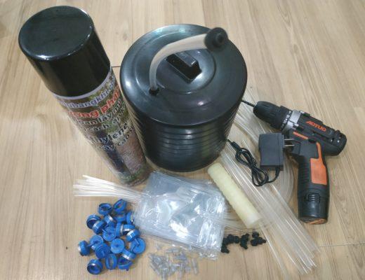 Đơn hàng 10 bộ nắp mỏng ống Thái cho phương pháp khoan lấy mủ cao su
